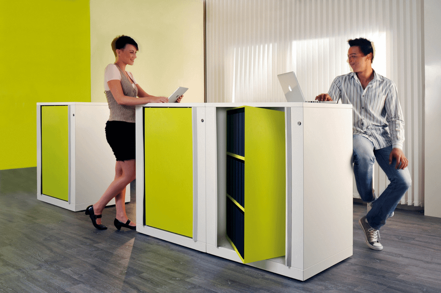Hidden Storage for Offices
